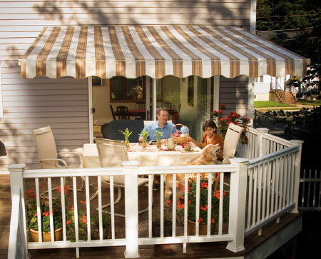 High Quality A Retractable Deck And Patio Awning. Desert_sand_tahoe_collection_1_web